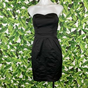 5 for $25 H&M Black Strapless Sheath Dress